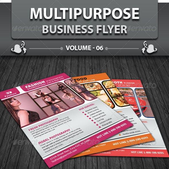 Multipurpose Business Flyer | Volume 6