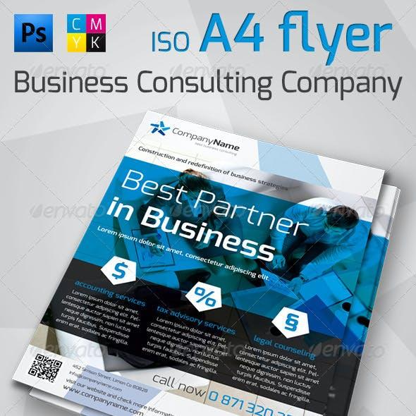 Corporate A4 Flyer Vol.1