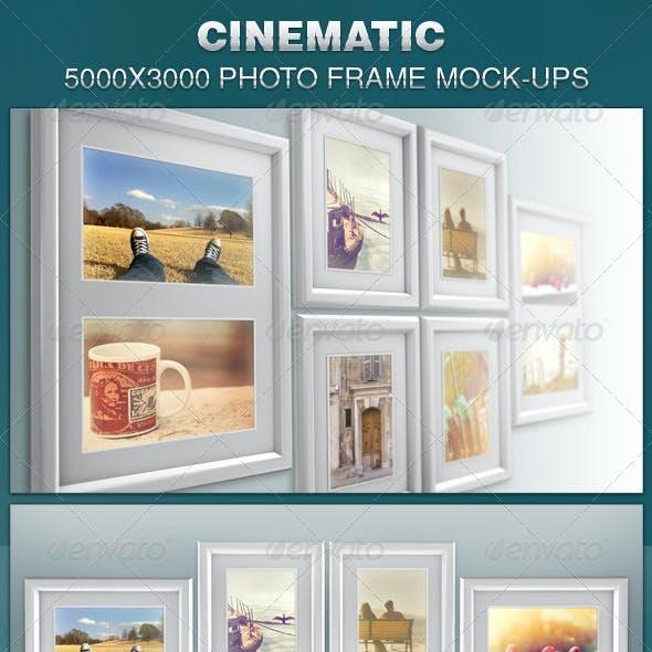 Cinematic Photo Frame Mock-ups