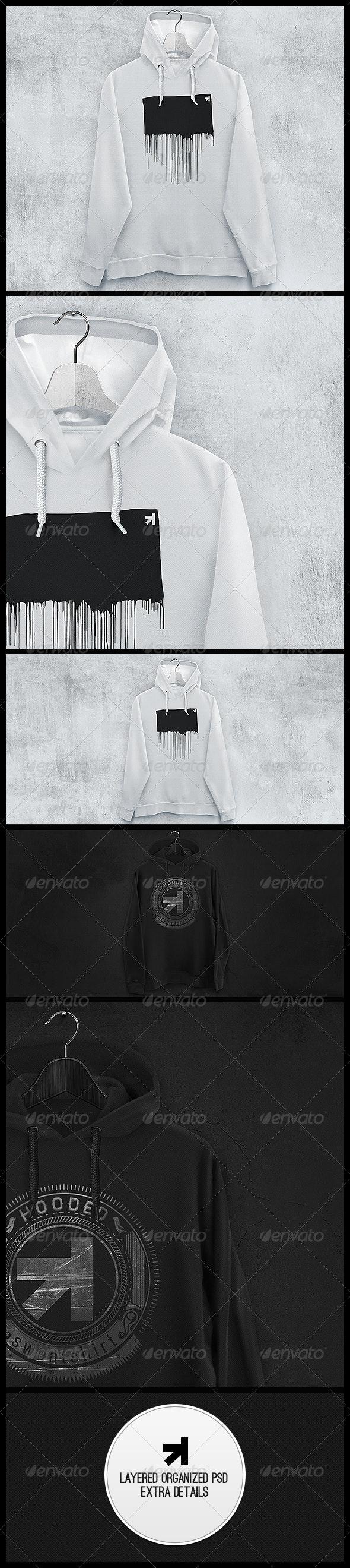 Hoodie Sweatshirt Mockup - Miscellaneous Apparel