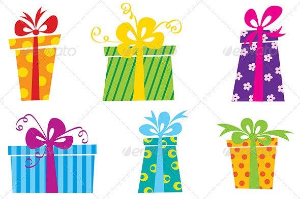 Cute Gift Boxes - Seasons/Holidays Conceptual