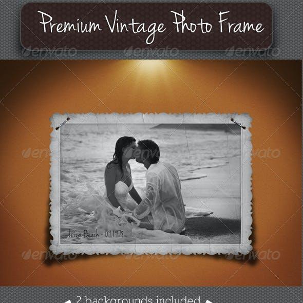 Premium Vintage Photo Frame