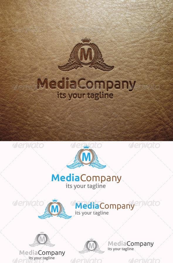 Media Company Logo - Crests Logo Templates