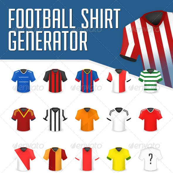 Football Shirt Icon Generator