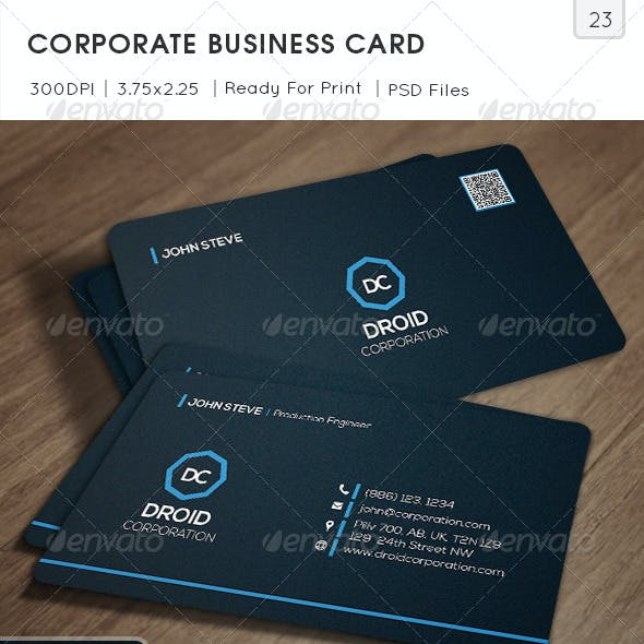 Corporate Business Card v23
