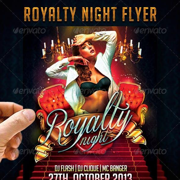 Royalty Night Flyer
