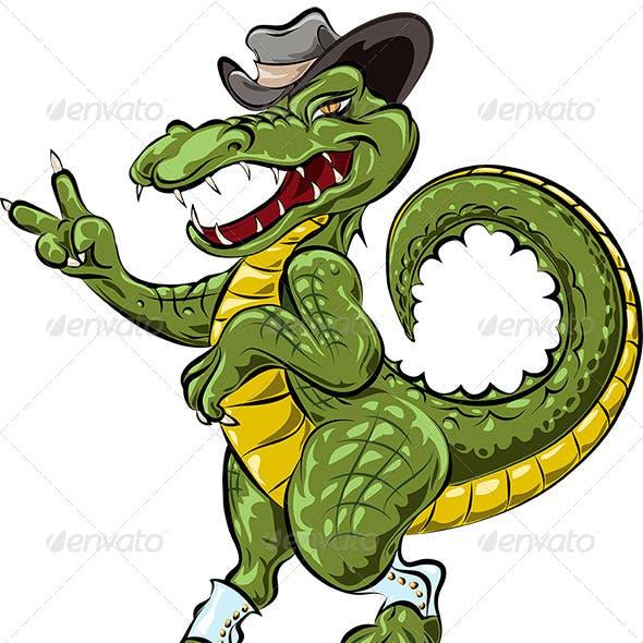 The Dandy Crocodile