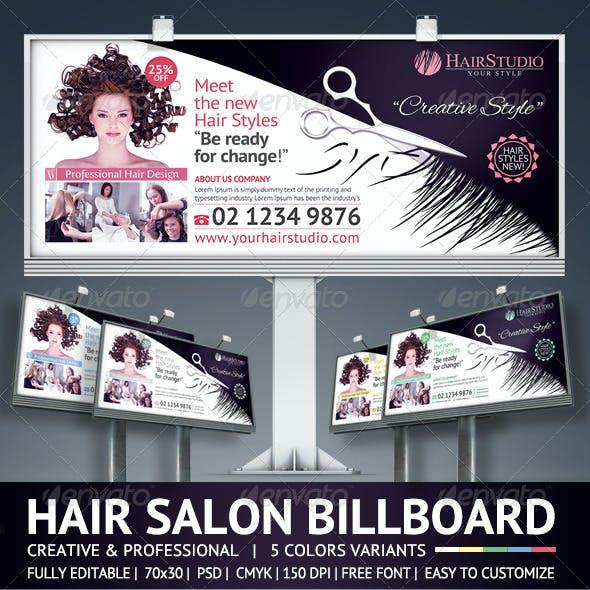 Hair Salon Billboard