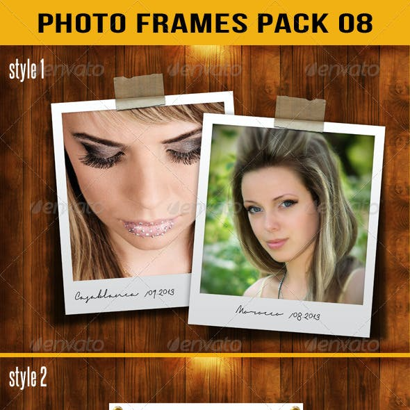 Photo Frames Pack 08