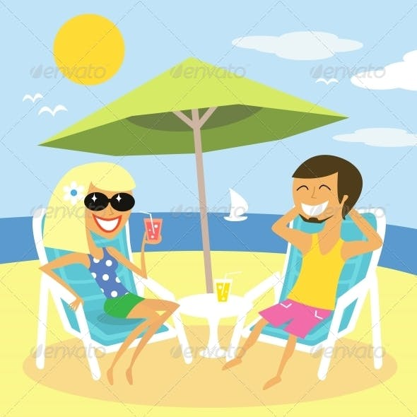 Beach Summer Vacation