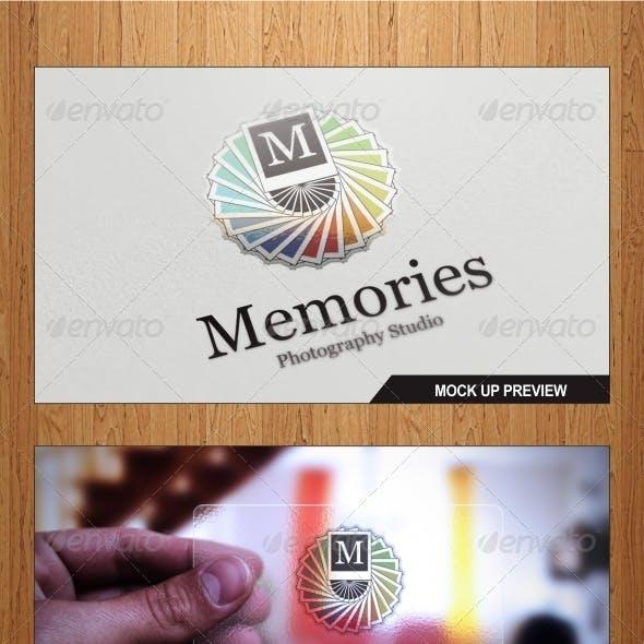 Memories Photo Logo