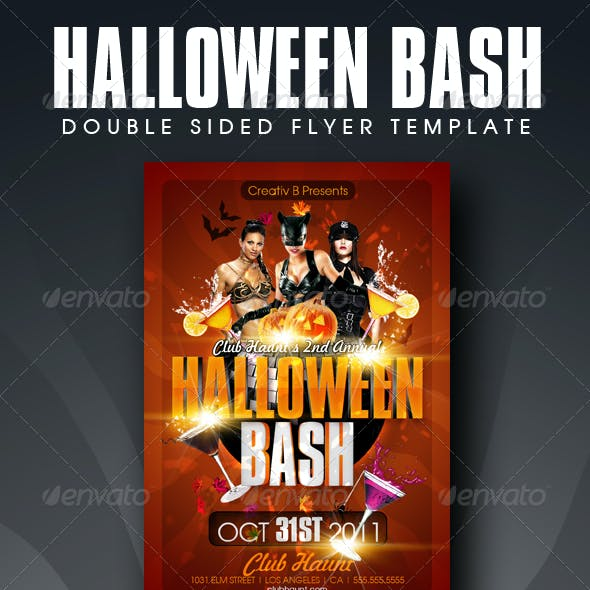 Halloween Bash Flyer Templates