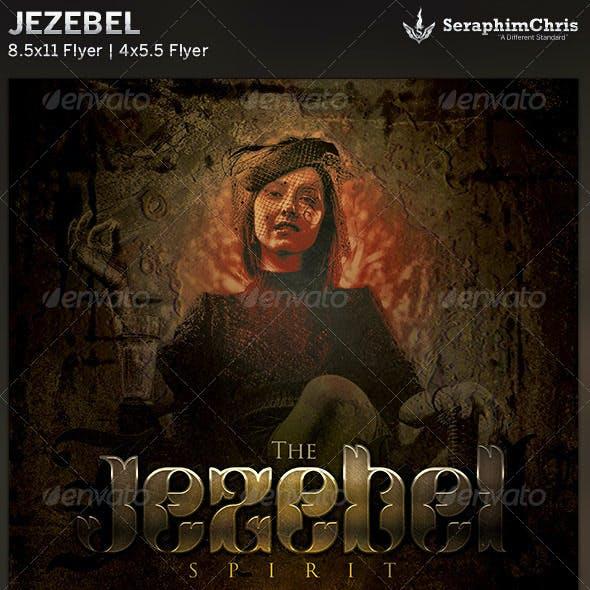 Jezebel: Church Flyer Template