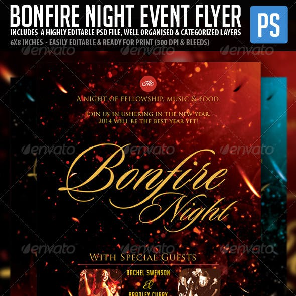 Bonfire Night Celebration
