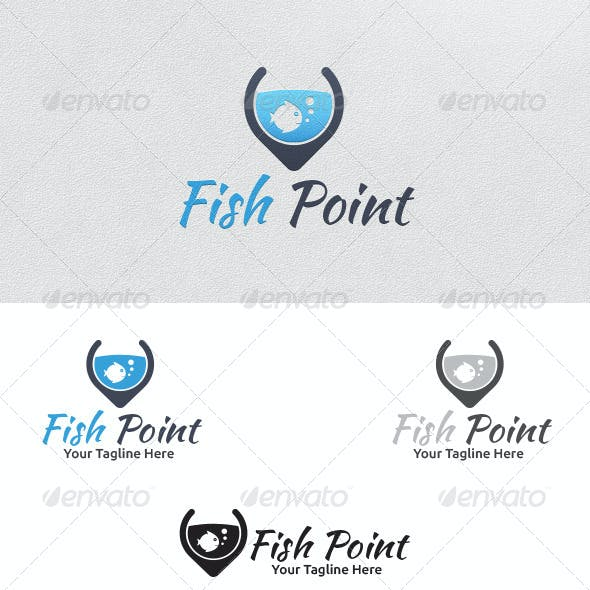 Fish Point - Logo Template