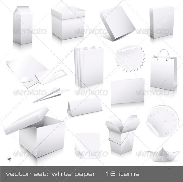 White Paper - Man-made Objects Objects
