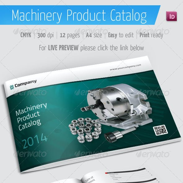 Product Catalog - Machinery Brochure