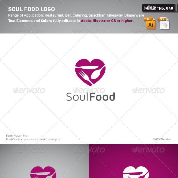 Soul Food Logo Template