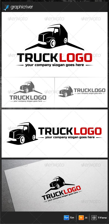 Work Truck Logo Templates - Objects Logo Templates