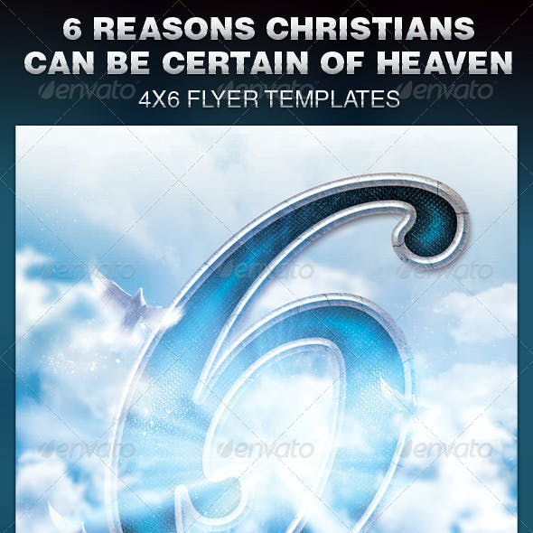 6 Reasons Christians Can Be Certain Flyer
