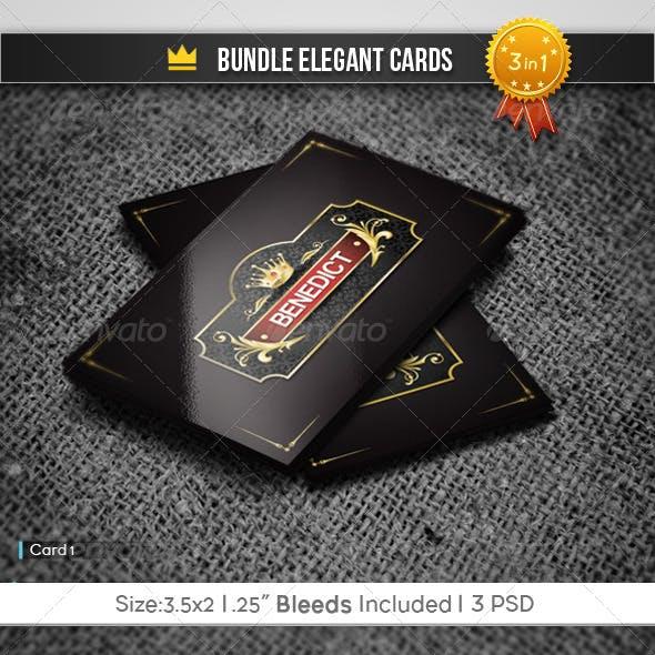 Bundle Elegant Cards