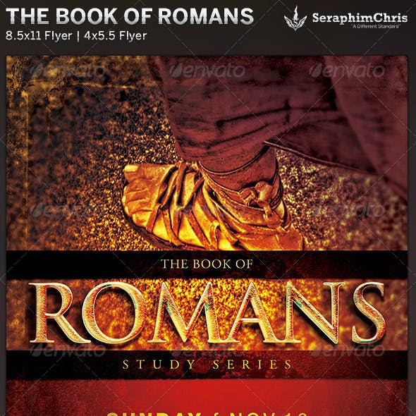 The Book of Romans: Church Flyer Template