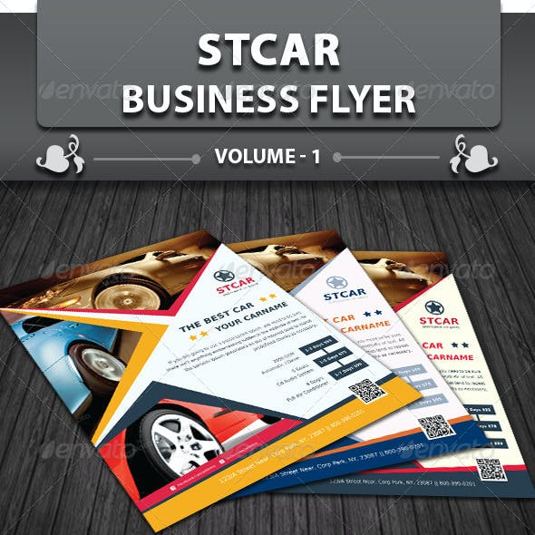 Automobile Business Flyer | Volume 1