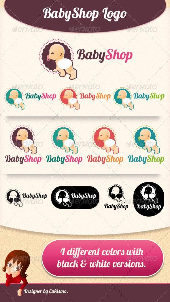 Baby Shop Logo - Humans Logo Templates