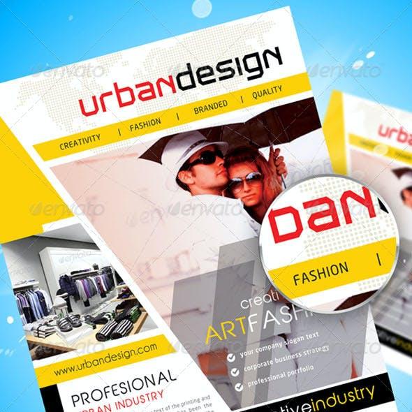 Urban Design Flayer