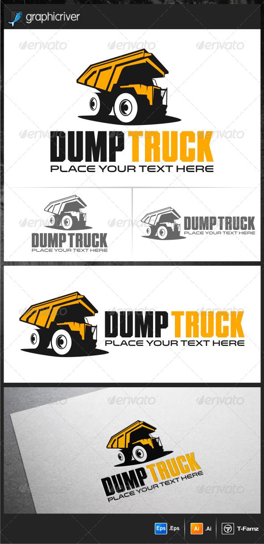 Dump Truck Logo Templates - Objects Logo Templates