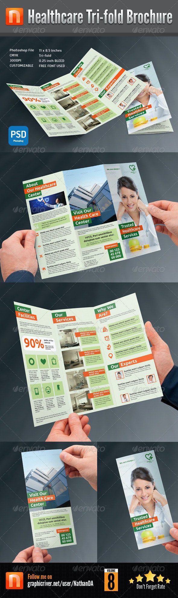 Healthcare Center Tri-fold Brochure V8 - Corporate Brochures
