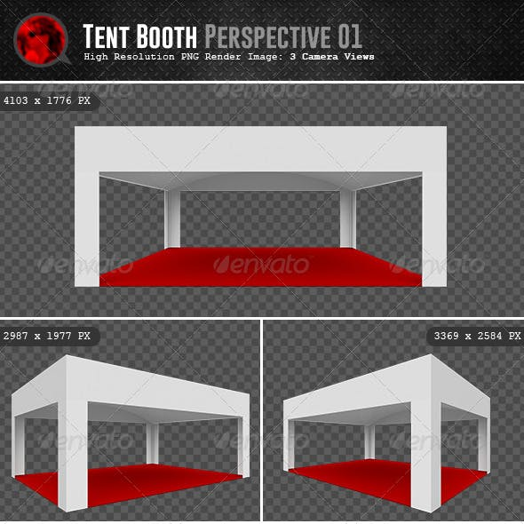 Tent Booth Perspective 01