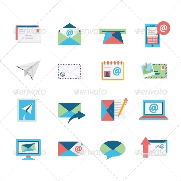 Email Icons - Web Icons