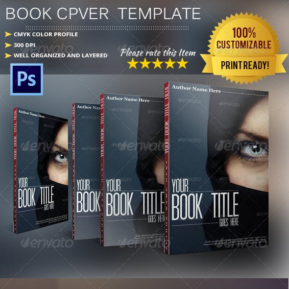 Book Cover Template Vol.2