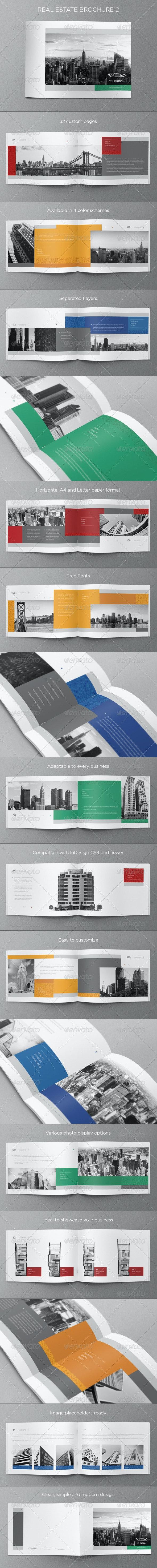 Real Estate Brochure 2 - Brochures Print Templates