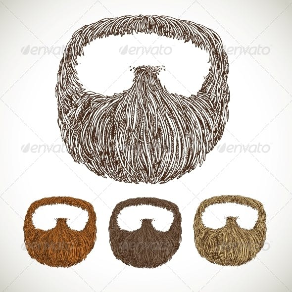 Neat Beard in Color Variations