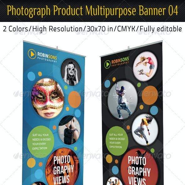 Photograph Product Multipurpose Banner 04