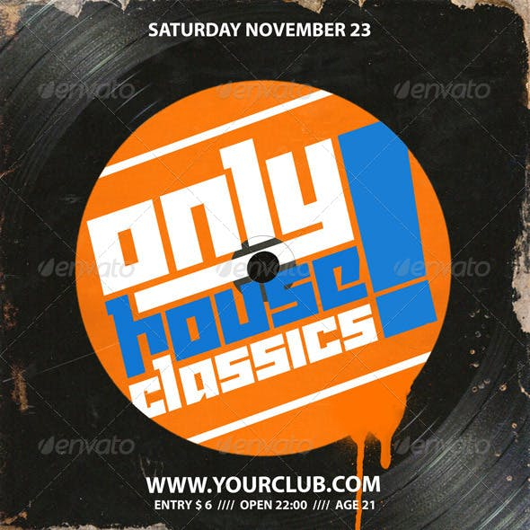 Flyer Template Only Houseclassics