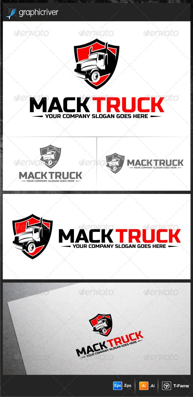 Truck Logo Templates - Objects Logo Templates