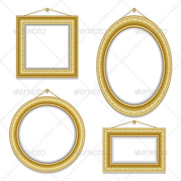 Set of frame - Backgrounds Decorative