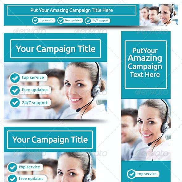 Corporate Web Banner Design Template 30