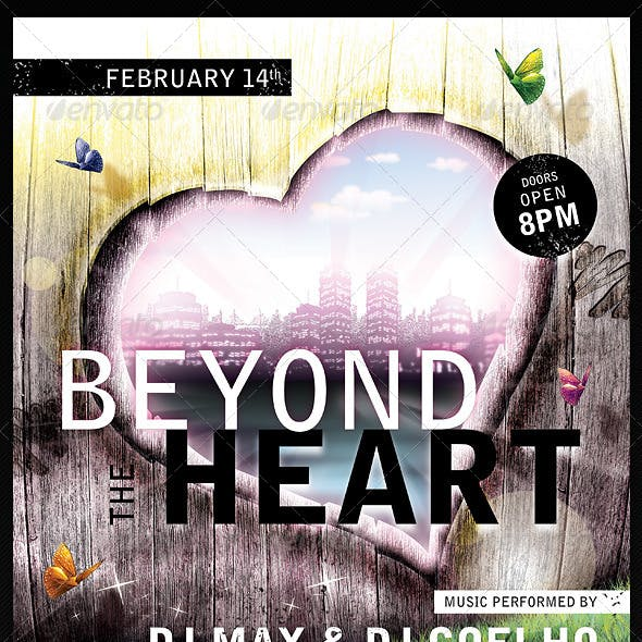Beyond the Heart Flyer Template