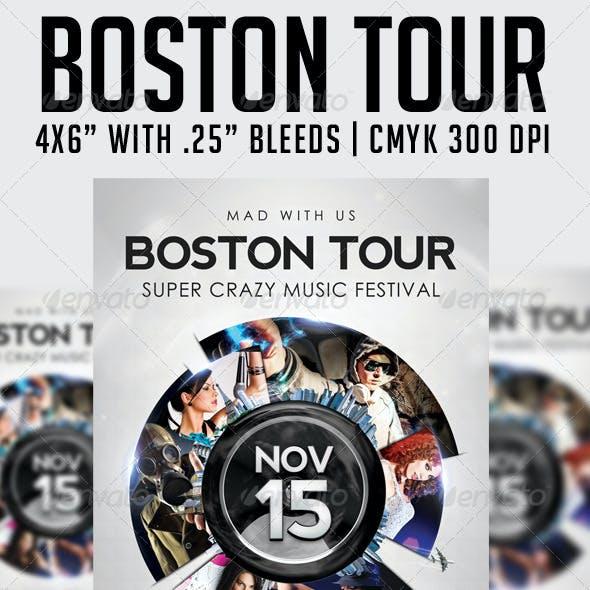 Boston Tour Template