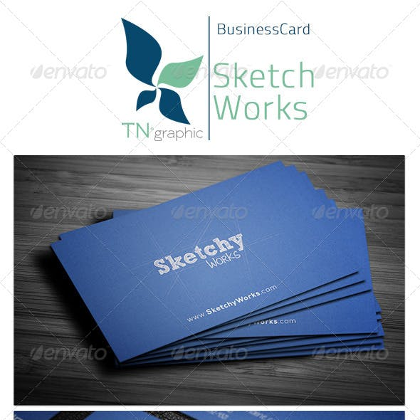 Sketchy Works Business Card