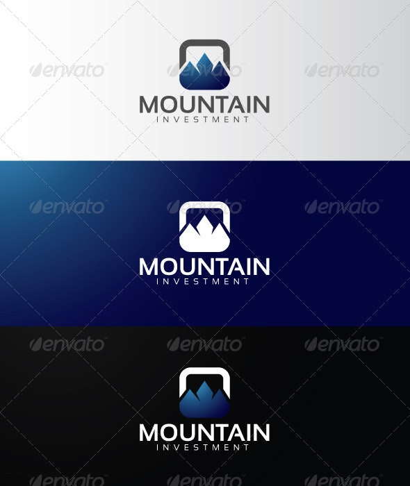 Mountain Investment - Abstract Logo Templates