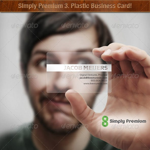 Prepped-4-Print: Translucent Plastic Business Card