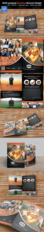 Multipurpose Business Bifold Brochure 9 - Corporate Brochures