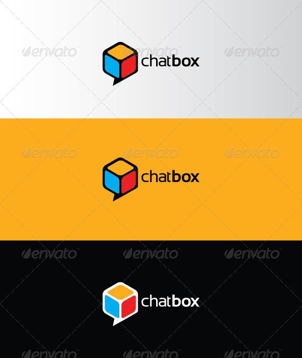 Chatbox - Abstract Logo Templates