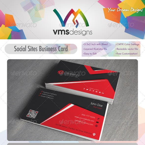 Textured Corporate Business Card