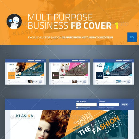 Multipurpose Business Facebook Cover 1